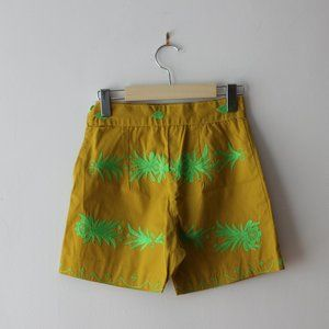 Vintage Embroidered Shorts